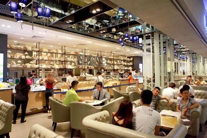 Nhà hàng ăn uống trong Vincom Mega Mall Times City
