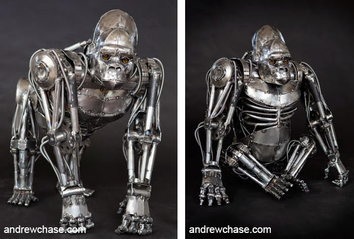 06-Gorilla-Andrew-Chase-Recycle-Fully-Articulated-Mechanical-Animal-www-designstack-co
