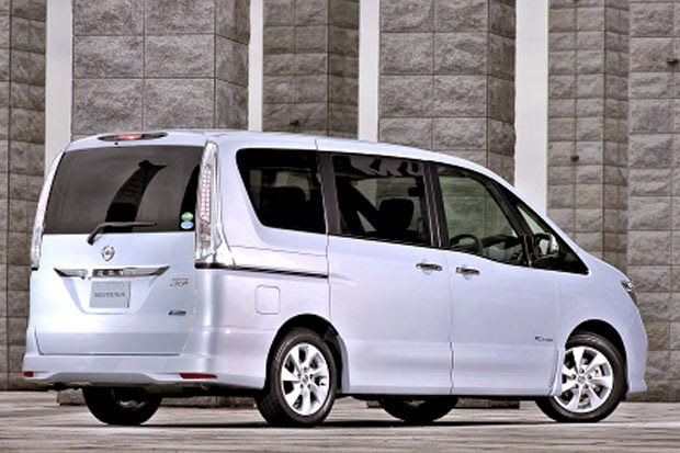 Hybrid car MPV Nissan Serena - Best Sport Car
