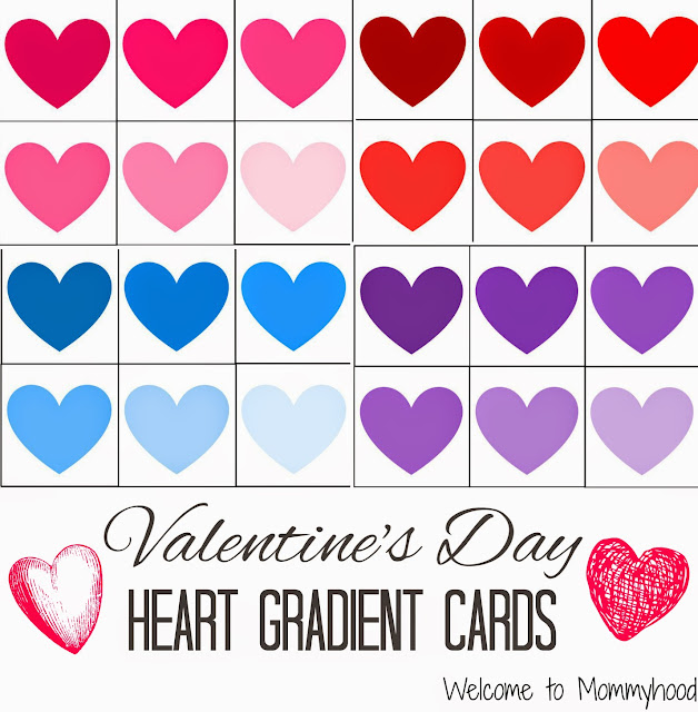 Valentine's Day Activities for Kids {Welcome to Mommyhood} #FreePrintables, #ToddlerActivities, #Valentine'sDay