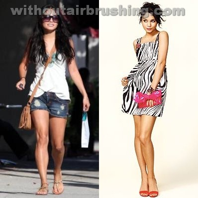 Vanessa Hudgens before and after