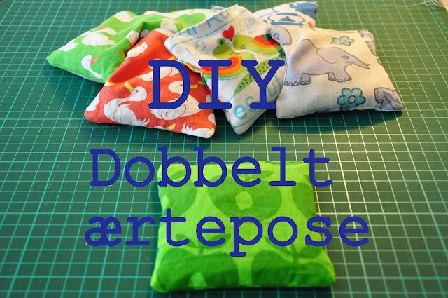 DIY: dobbelt ærtepose