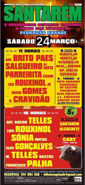 SANTARÉM (PORTUGAL) DIA 24-03-18. DOS FESTIVALES.