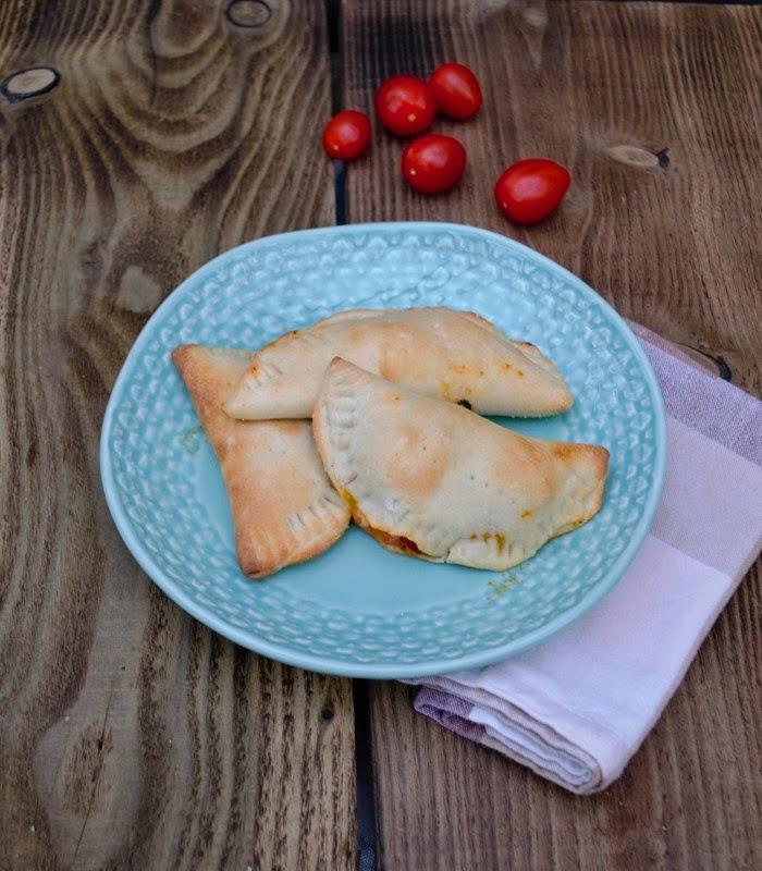 Italian style street food - mini calzone