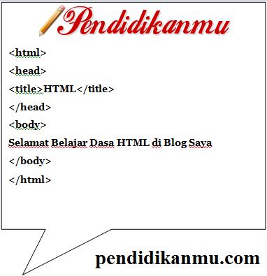 Belajar Dasar HTML Terlengkap