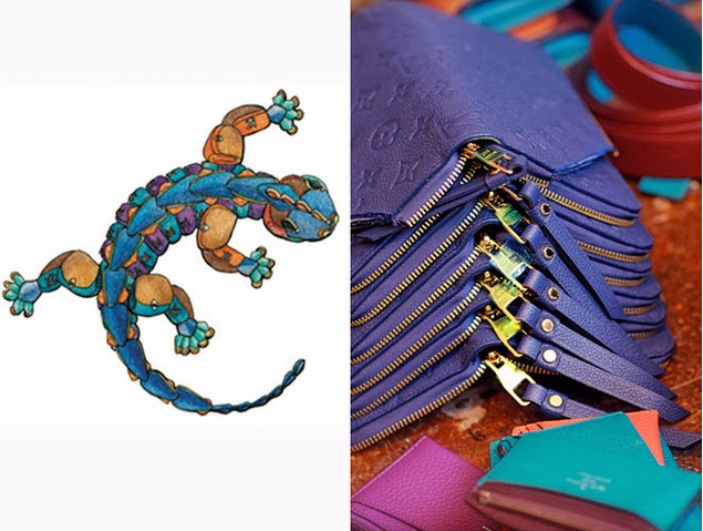 Art life la salamandra de gaud vuittonizada for Salamandra barcelona