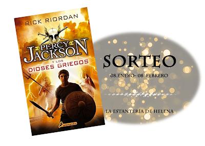 SORTEO - Percy Jackson y los dioses griegos