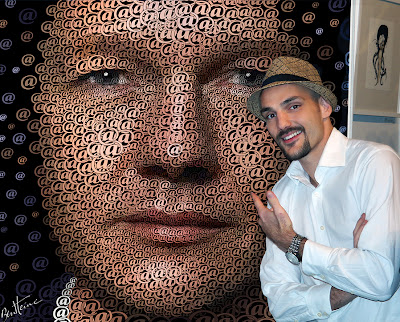 Ben Heine Exhibition at Exhi-B at The Event Lounge in Brussels, Belgium (Oct 2013)