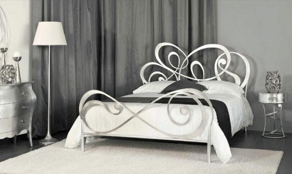 Letto vanity idea arredo - Letto in ferro battuto con contenitore ...