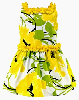 Floral Girl Dress - Conguitos
