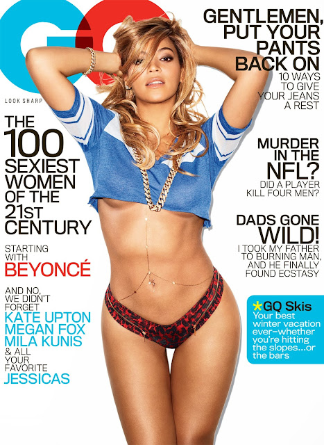 Beyonce – GQ Magazine Photoshoot (February 2013)