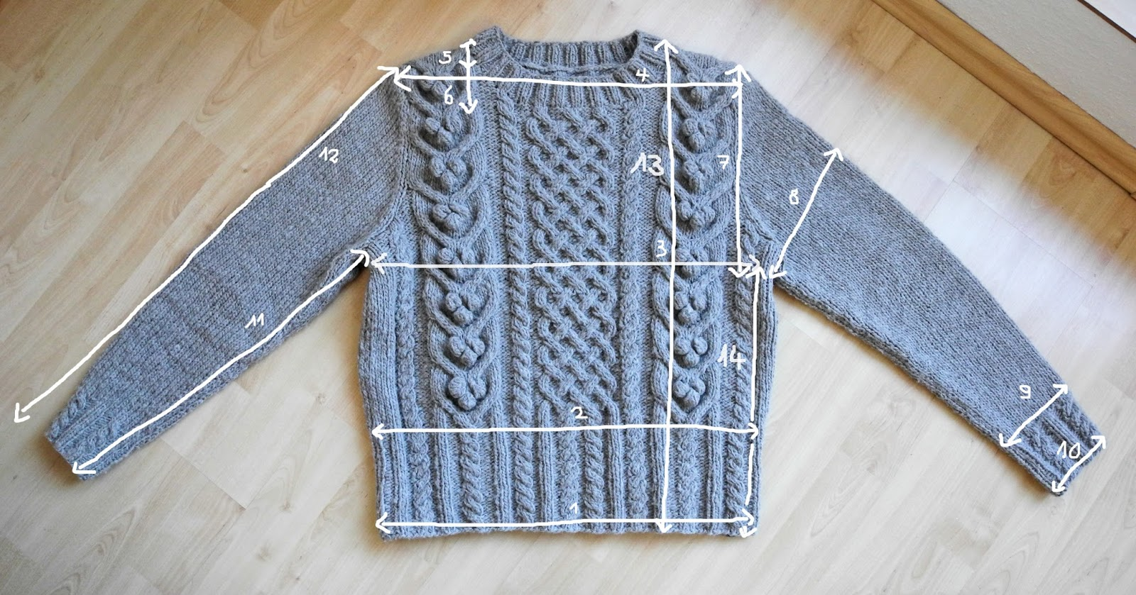 fadengold land girls moving cable sweater ist fertig. Black Bedroom Furniture Sets. Home Design Ideas