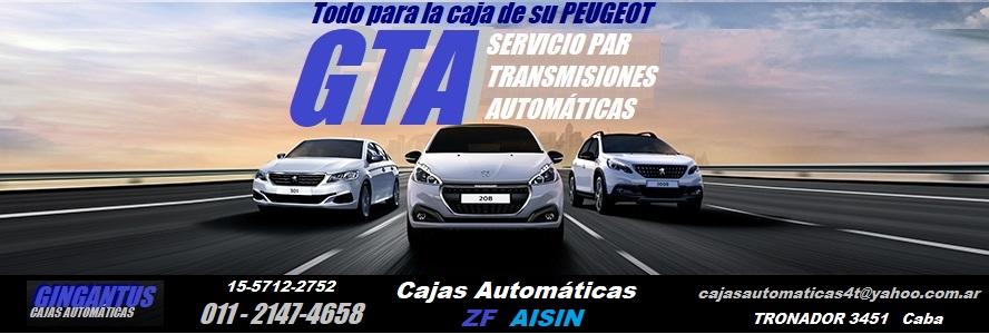 REPARACION DE CAJAS AUTOMATICAS PEUGEOT