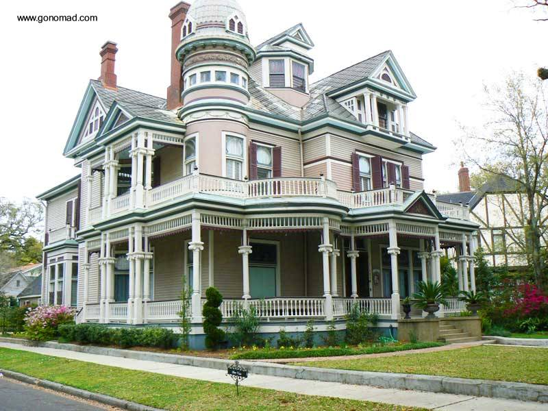 Arquitectura de casas mansi n victoriana for Victorian manufactured homes