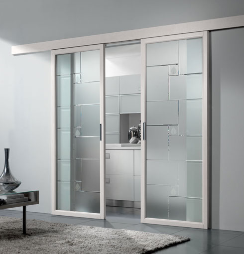 Puertas y ventanas modernas ideas para decorar dise ar for Casas con puertas de vidrio