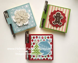 Holiday post it note holder