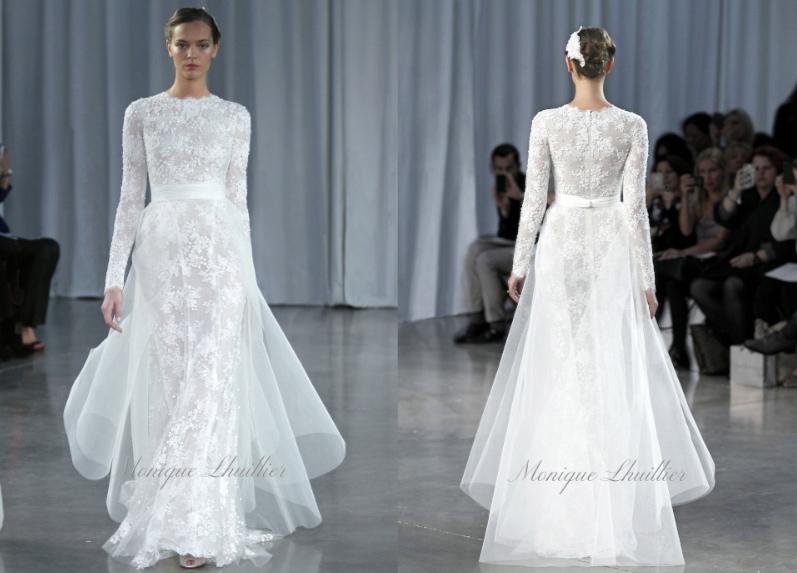 Portland Bridal Fitness: THE DRESS: MONIQUE LHUILLIER 2013 FALL ...