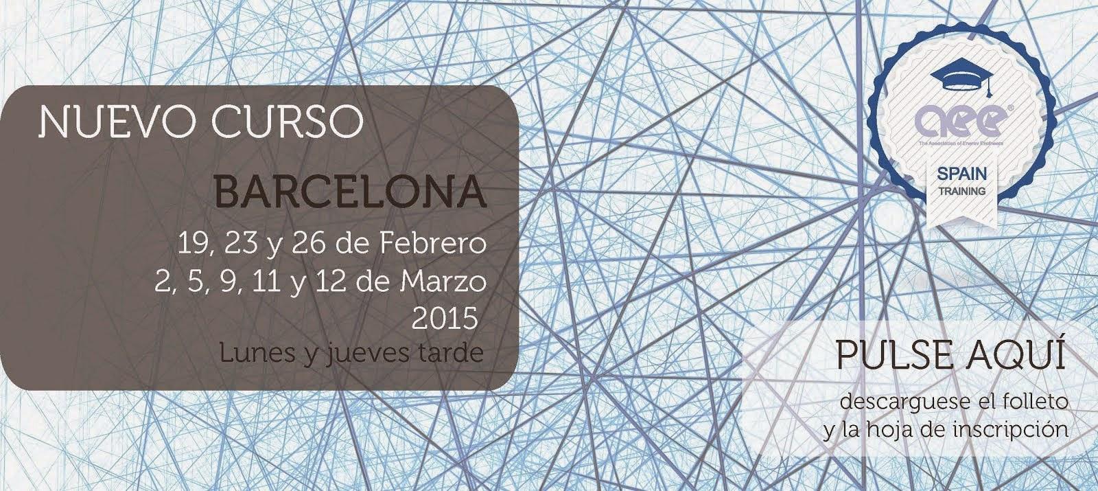 Curso CEM Barcelona Febrero 2015 (Lunes y jueves tarde)