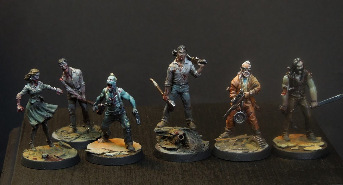 Massive Voodoo: Step by Step - Zombicide Gaming Figures