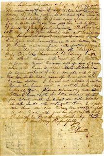 Letter from Richard Elwell Reeves, page 2