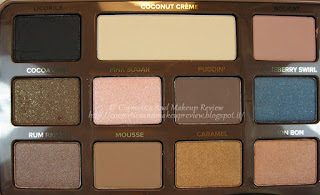 Too Faced - Semi-Sweet Chocolate Bar - ombretti