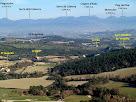 La plana de Vespella amb el Cabrerès al fons