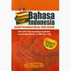 Karya Ilmiah Bahasa Indonesia Dalam Kajian Linguistik