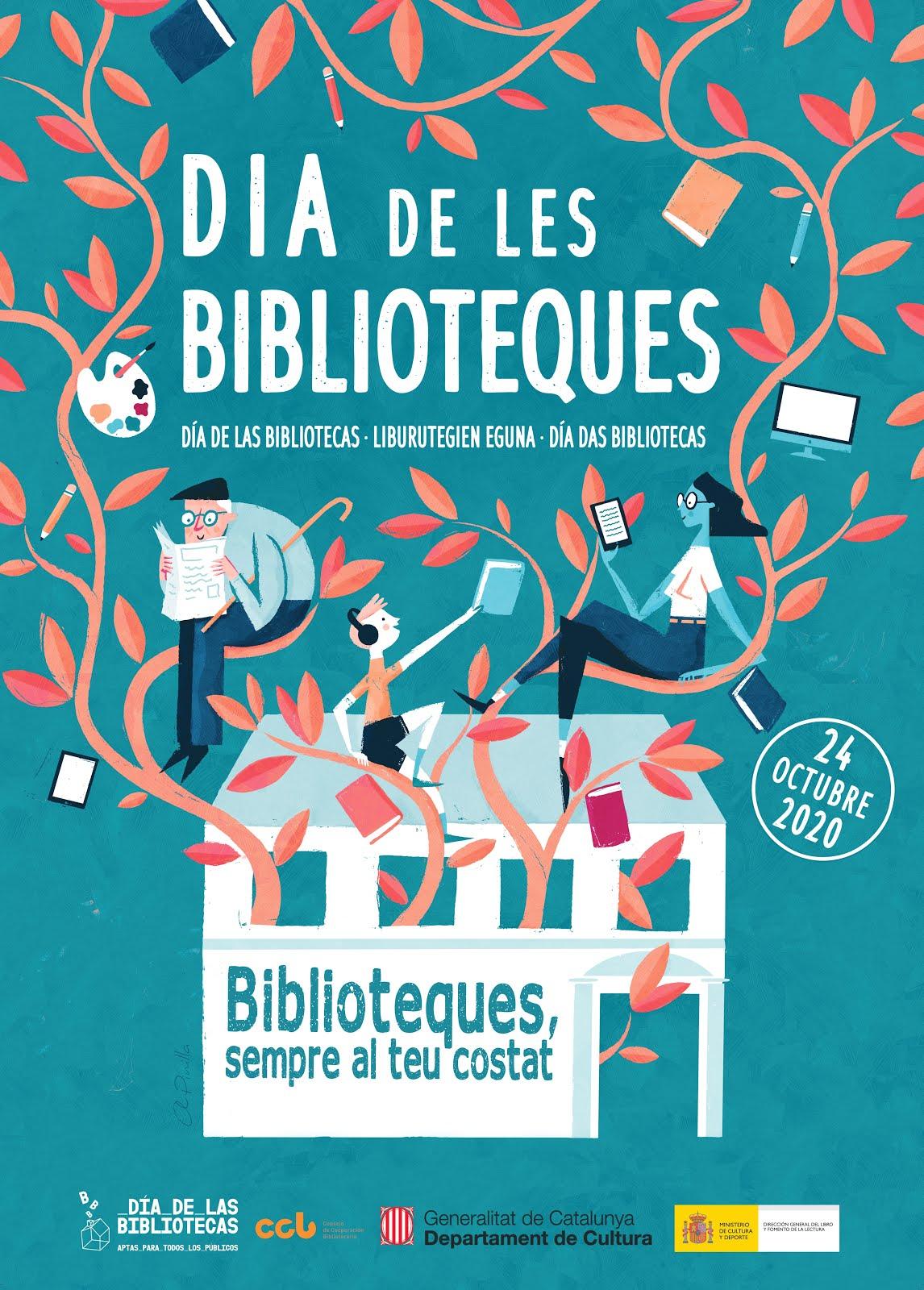 Dia de les Biblioteques 24/10/2020