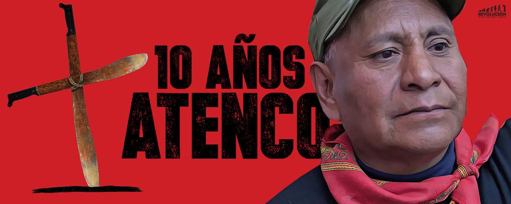 No se nos olvida que nos golpearon y que violaron a nuestras mujeres, esa orden vino de Peña Nieto: