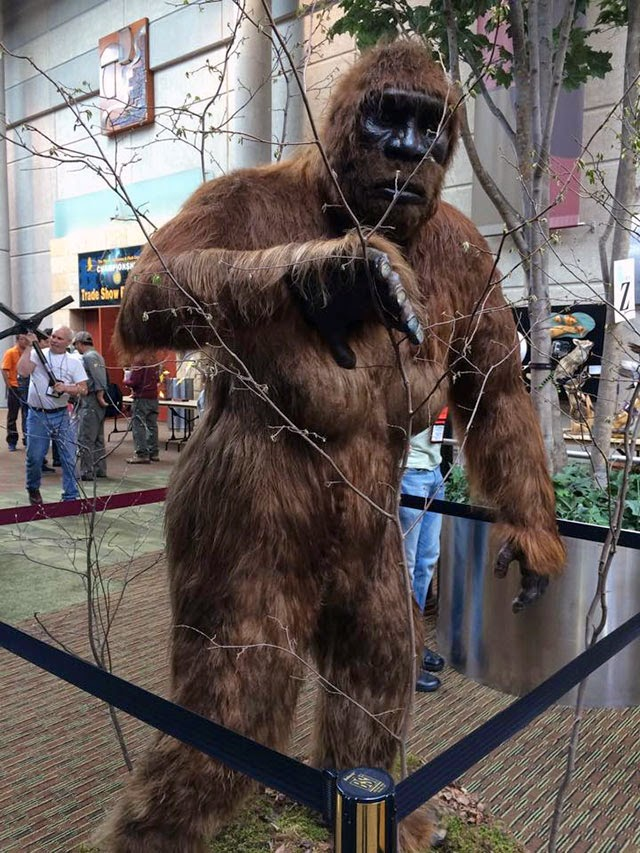 Image result for taxidemy bigfoot