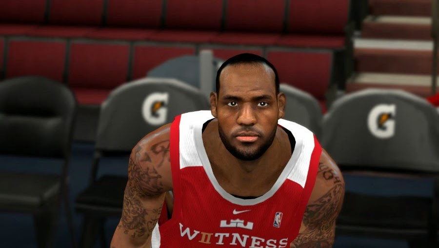LeBron No Headband NBA 2K14