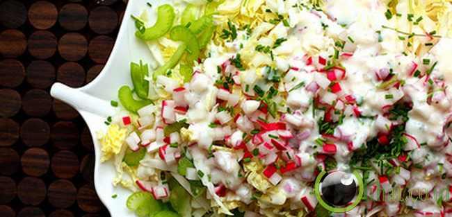 9.Saus salad rendah lemak
