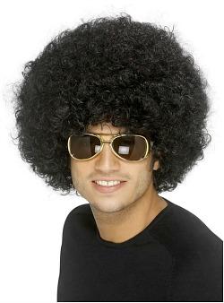 Unisex afro wig