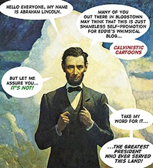 Look Everybody! It's Honest Abe!