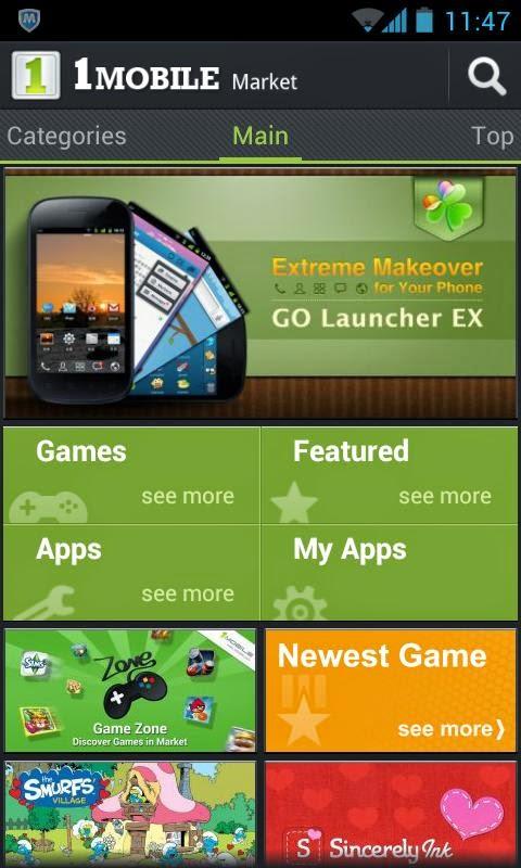 скачать one mobile market для андроид