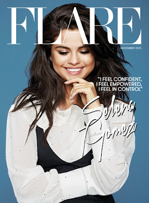 Selena Gomez in Flare Magazine – November 2015