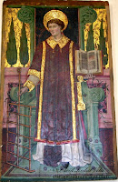 Magallón Iglesia San Lorenzo Martir Castillo de Magallón Moncayo Tabla San Lorenzo