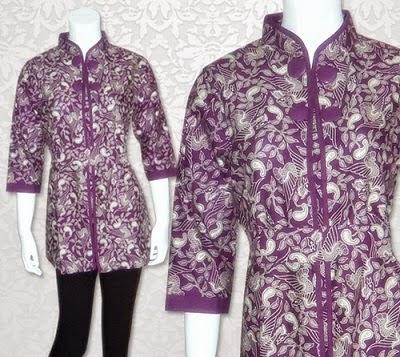contoh seragam batik untuk kerja kantoran