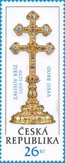 Czech Republic: Záviš' Cross - Vyšší Brod - http://www.ceskaposta.cz/
