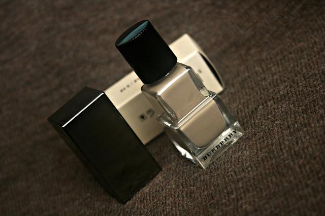 Burberry beauty nail polish in mink No.105