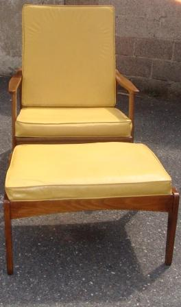 nicole wood interiors sold mid century high back lounge chair w