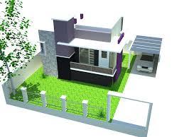Desain rumah tinggal berlantai 2