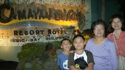 Camayan Beach Resort, The Entrance