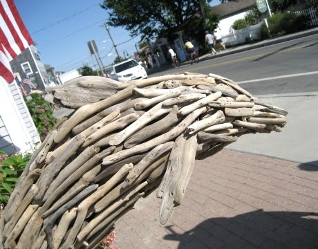 block island driftwood inspiration