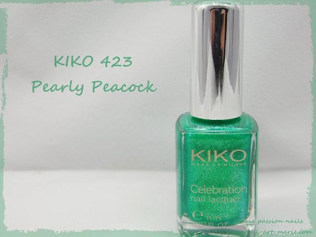 Kiko Pearly Peacock 423 1