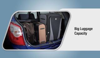 toyota agya luggage