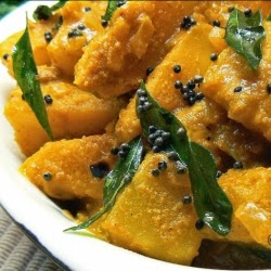 Picture of breadfruit curry