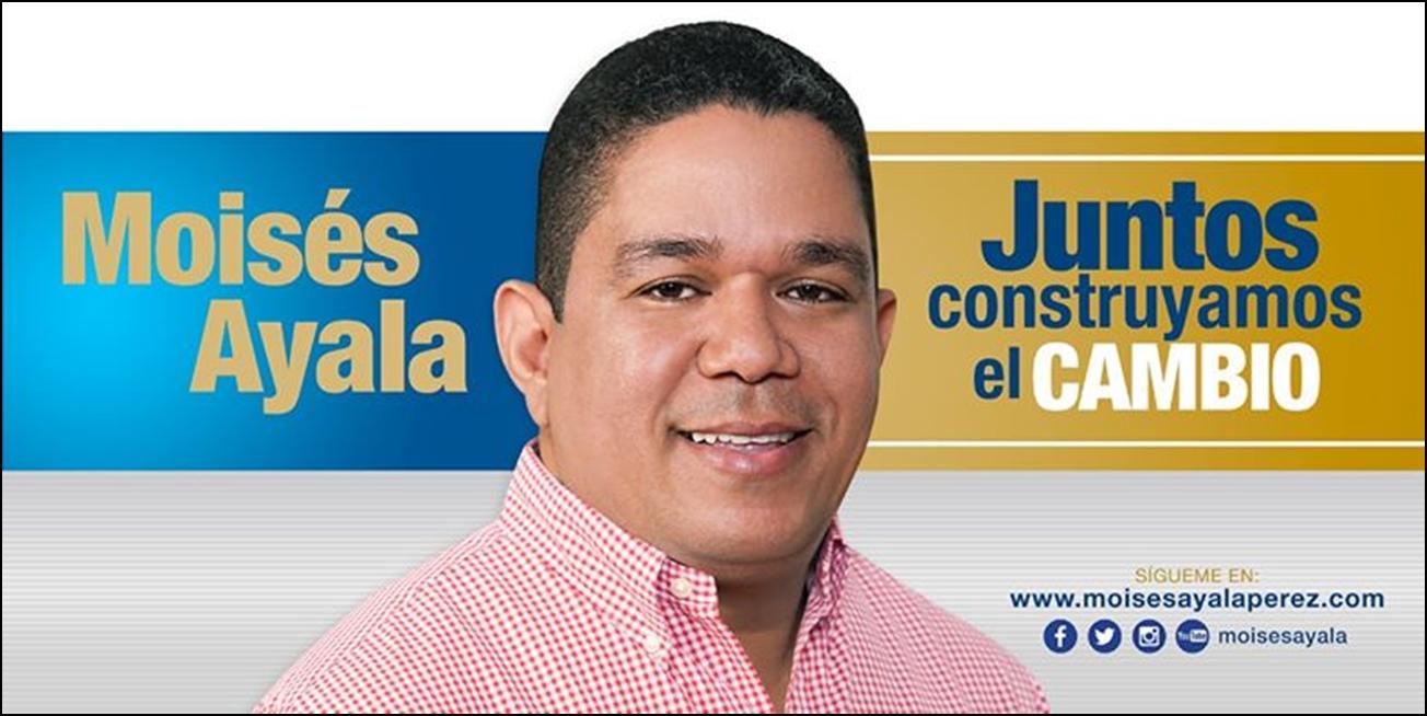 MOISES AYALA, Diputado PRM Barahona 2020-2024
