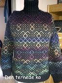 Sweater m. mønster