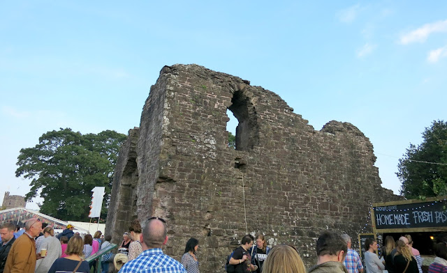 Abergavenny Food Festival Castle Ruins Grounds
